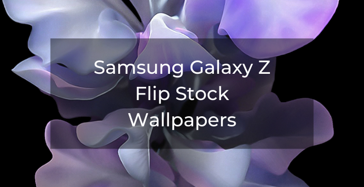 Samsung Galaxy Z Flip Stock Wallpapers Wallpaperlabs Stock Wallpaper Samsung Galaxy Galaxy