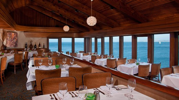 Montery Waterfront Seafood Restaurant Dining With A View Chart House