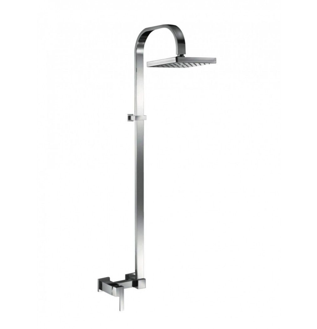 Bathroom shower pipe - Artize Le Blanc Single Lever Exposed Shower Mixer With Shower Pipe But Without Overhead Shower