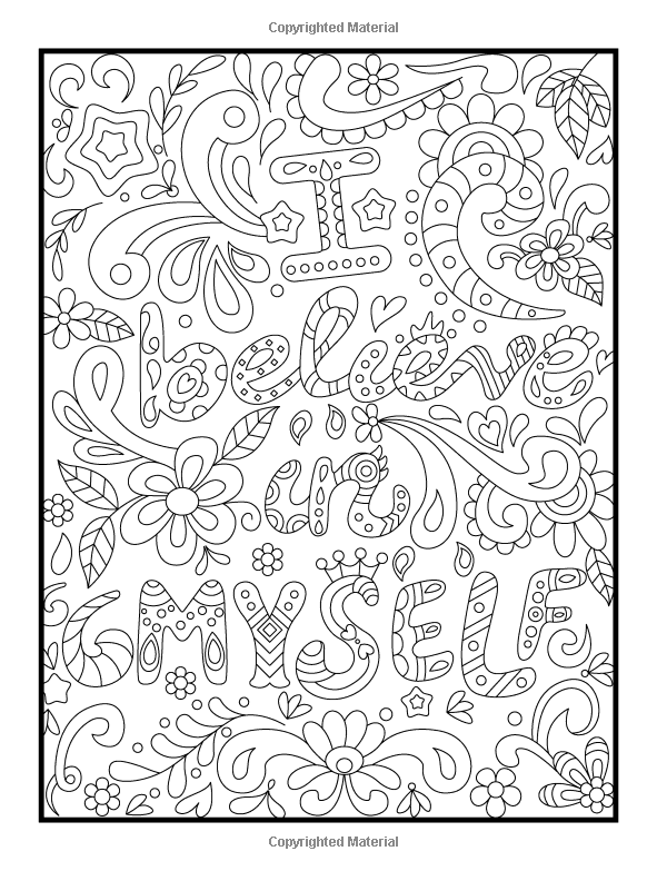 1 Quotes Inspirational Coloring Pages To Download And Print