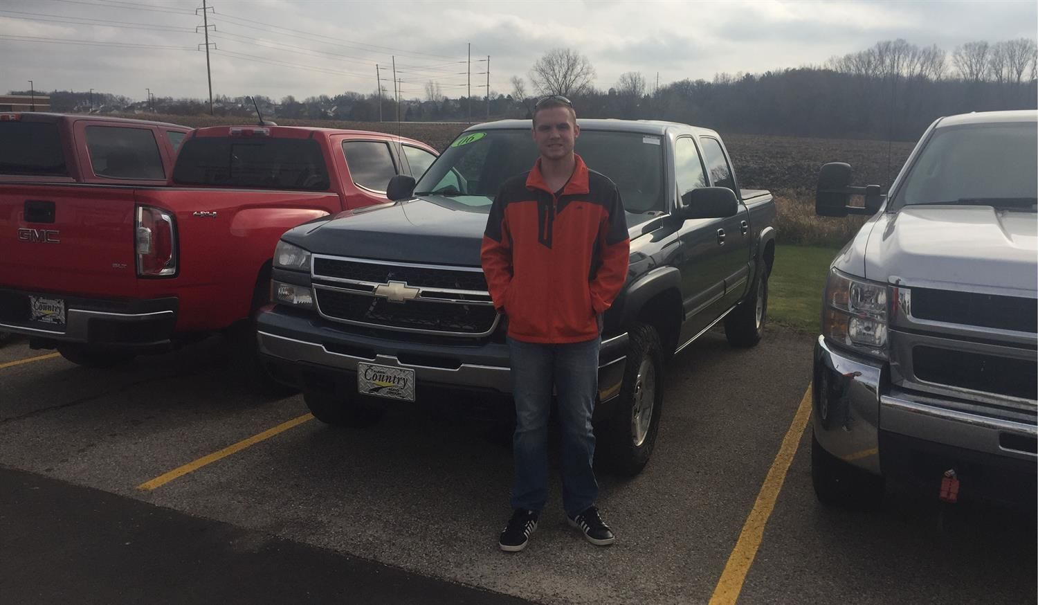 Thank you Jason, for the opportunity to help you with your new vehicle!  All the best, Kunes Country Chevrolet Buick GMC.