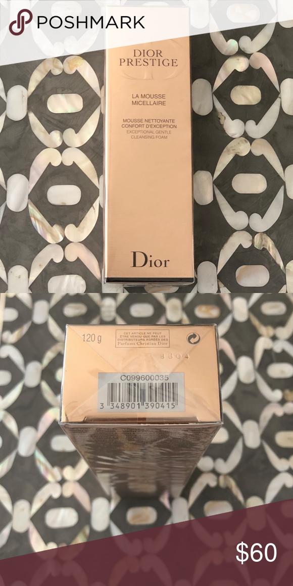 Dior Prestige La Mousse Micellaire Cleansing Foam Gentle Cleanse Mousse Perfect Makeup