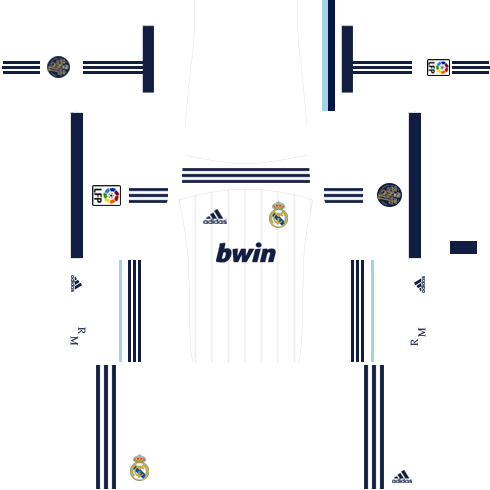 Real Madrid Kits 2012 2013 Dream League Soccer In 2020 Real Madrid Kit Real Madrid Home Kit Real Madrid