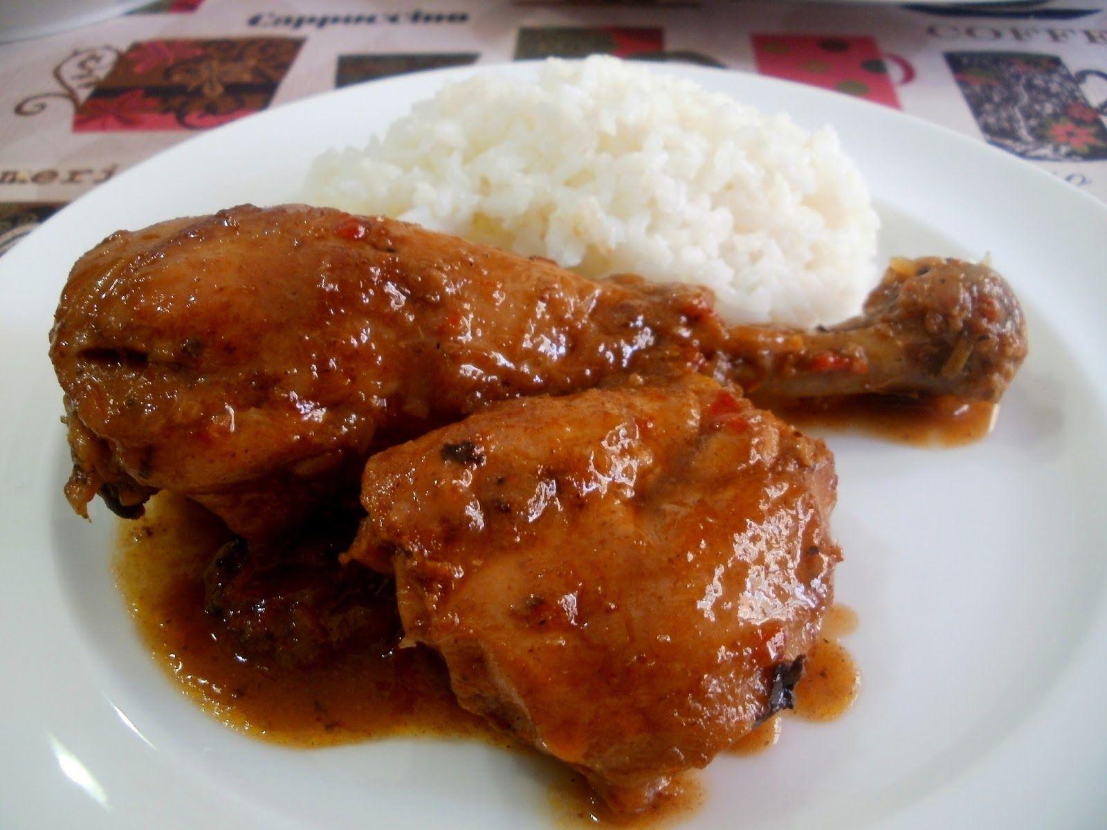 El Pollo Guisado De Mi Casa Pollo Guisado Pollo Como Preparar Pollo