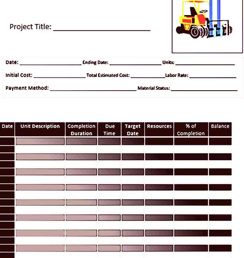 Construction Work Schedule Is Needed For Any Infrastructure Projects With Varies Disciplines Brow Schedule Template Work Schedule Template Construction Work
