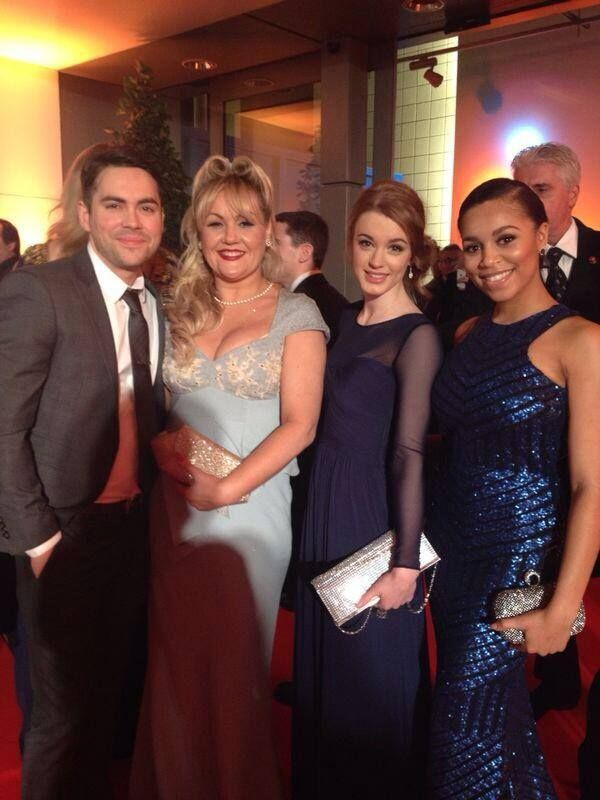 Coronation Street ITV tweeted from tonight's NTA awards. 'Todd, Beth, Maddie and Steph'
