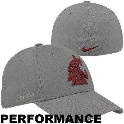 Nike Washington State Cougars Performance Swoosh Flex Hat #GoCougs