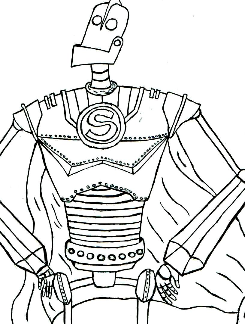 The Iron Giant Printables Free Kids Coloring For Kids Coloring For Kids Free