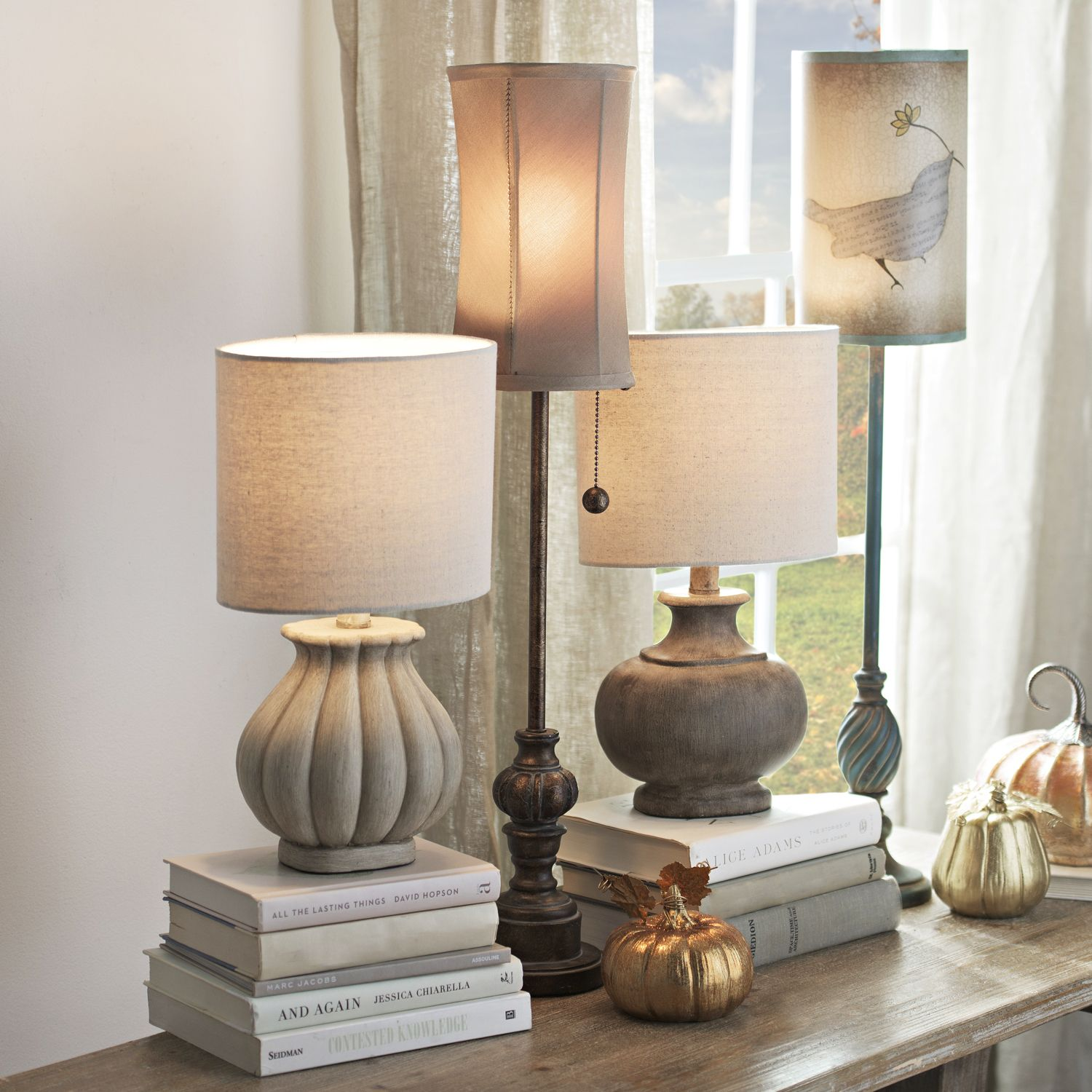 Exceptionnel Accent Lamps Can Be The Perfect Piece Of Decor And Table Decoration That You  Need! Whether You Like Round, Short Table Lamps Or Tall, Thin Buffet Lamps,  ...