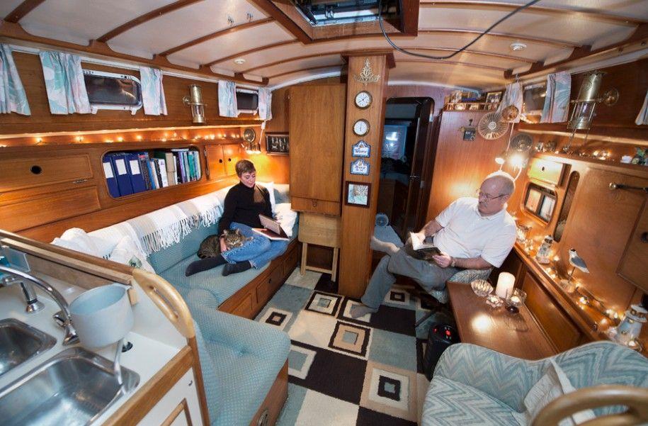 boat houses and interiors boat house interior blue soifa rh pinterest com