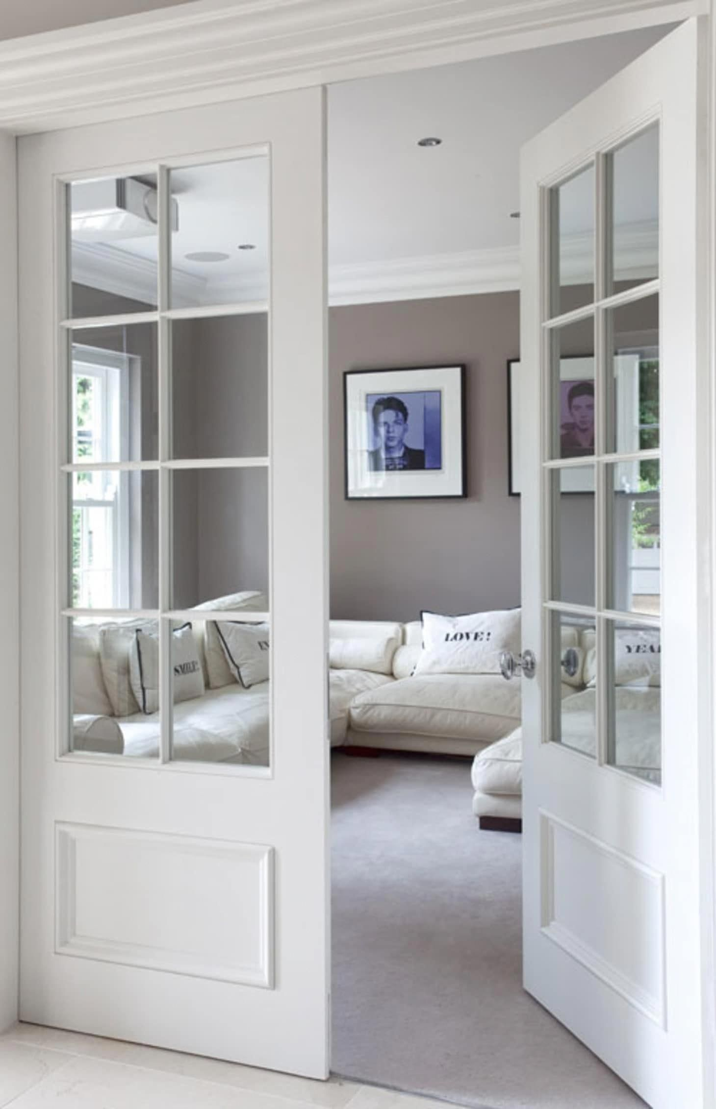 Internal French Doors White Contemporary Front Doors Interior