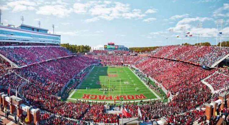 Carter Finley Stadium Nc State Football Nc State University Nc State