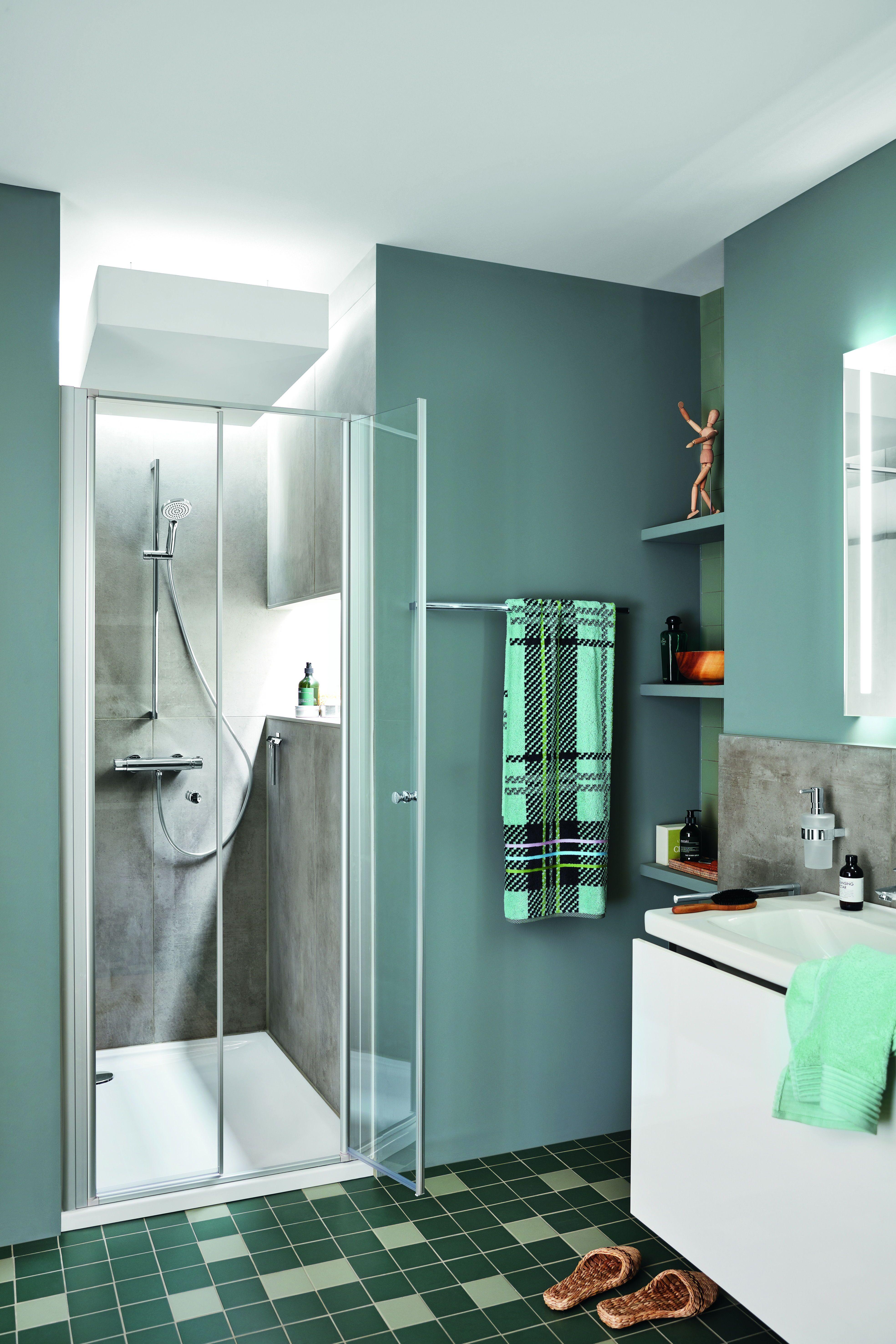 Kleines Badezimmer Mit Dusche Planen In 2020 Mini Bad Badezimmer Mit Dusche Badezimmer