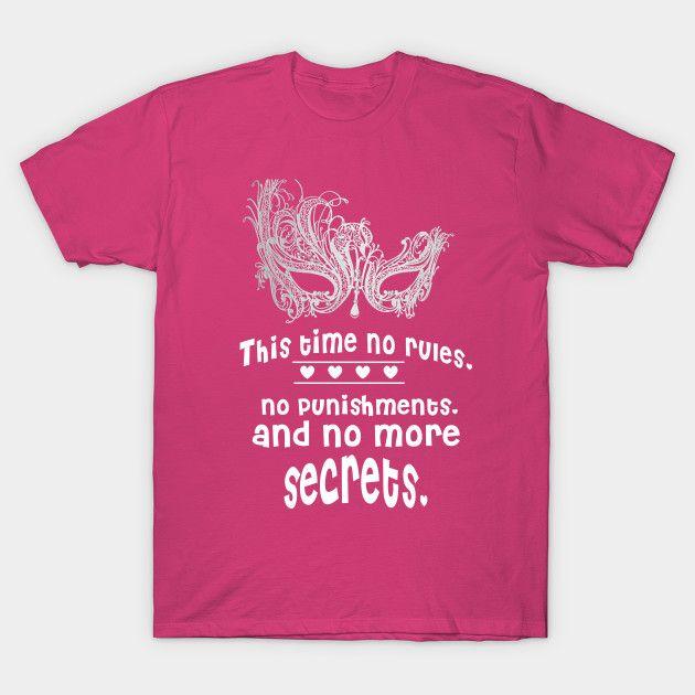 Women tshirt no more secrets by katissdesign