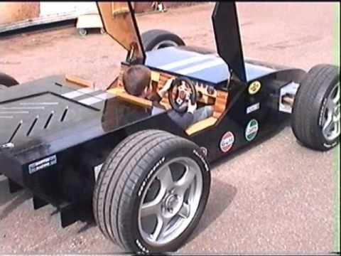 Lamborghini Formula One Style Prototype Go Kart Youtube Wooden Go Kart Go Kart Custom Go Karts
