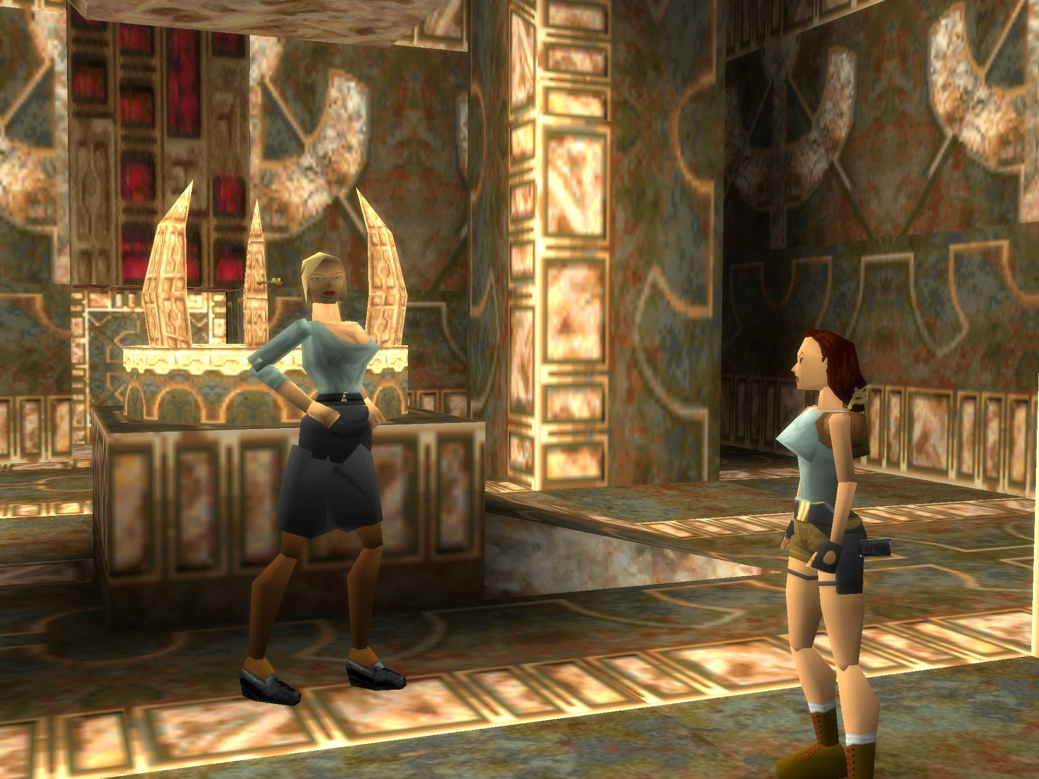 A Nice Chat With Natla Before Tomb Raider Tomb Raider 1 Tomb