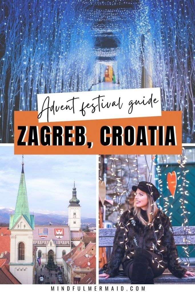 Zagreb Advent 2020 Christmas Market Guide With Map In 2020