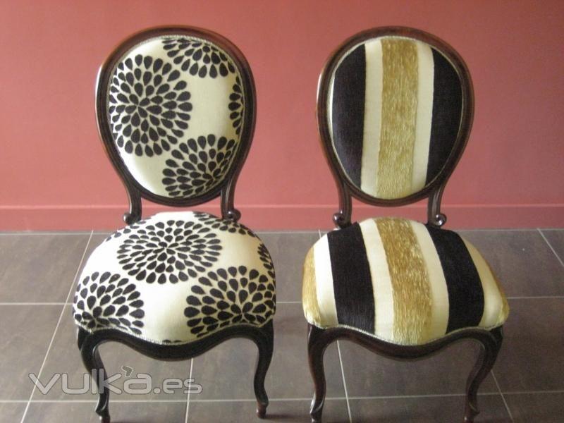 Tapiceria para sillas isabelinas buscar con google for Isabelinas modernas