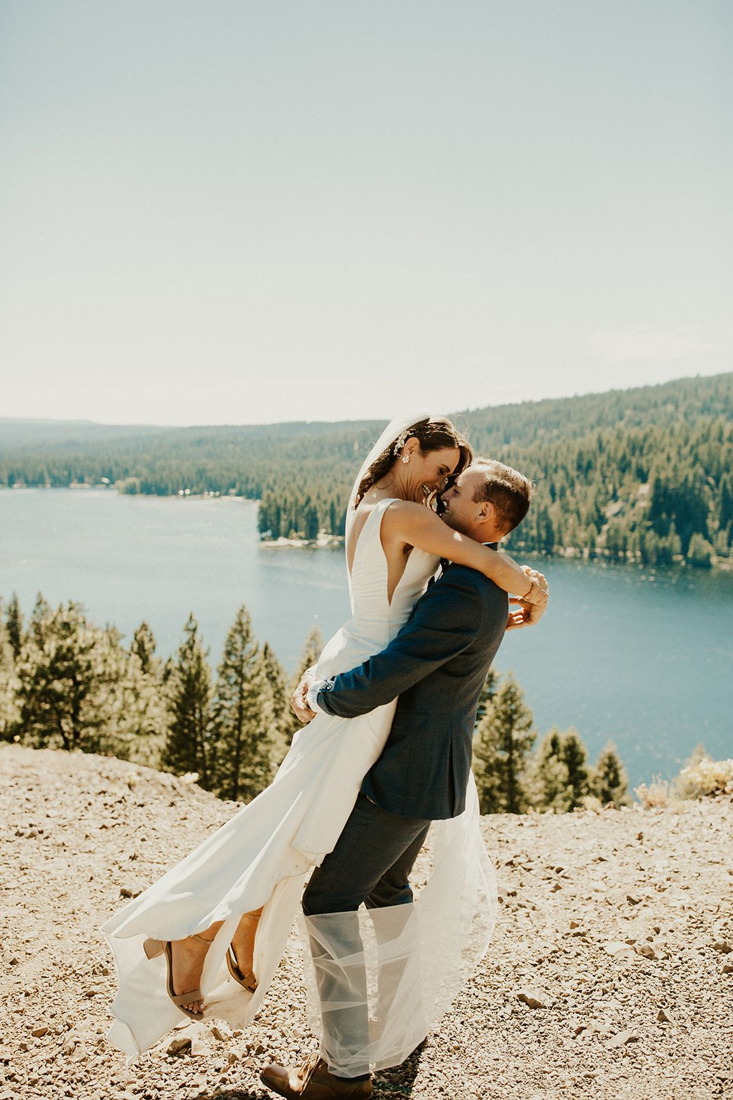 McCall Idaho Wedding at Ponderosa State Park and the