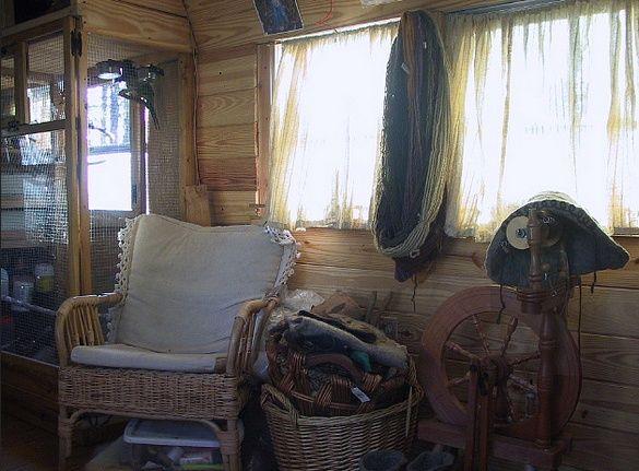Vintage Bus Conversion - Enchanted Gypsy - Sitting Area