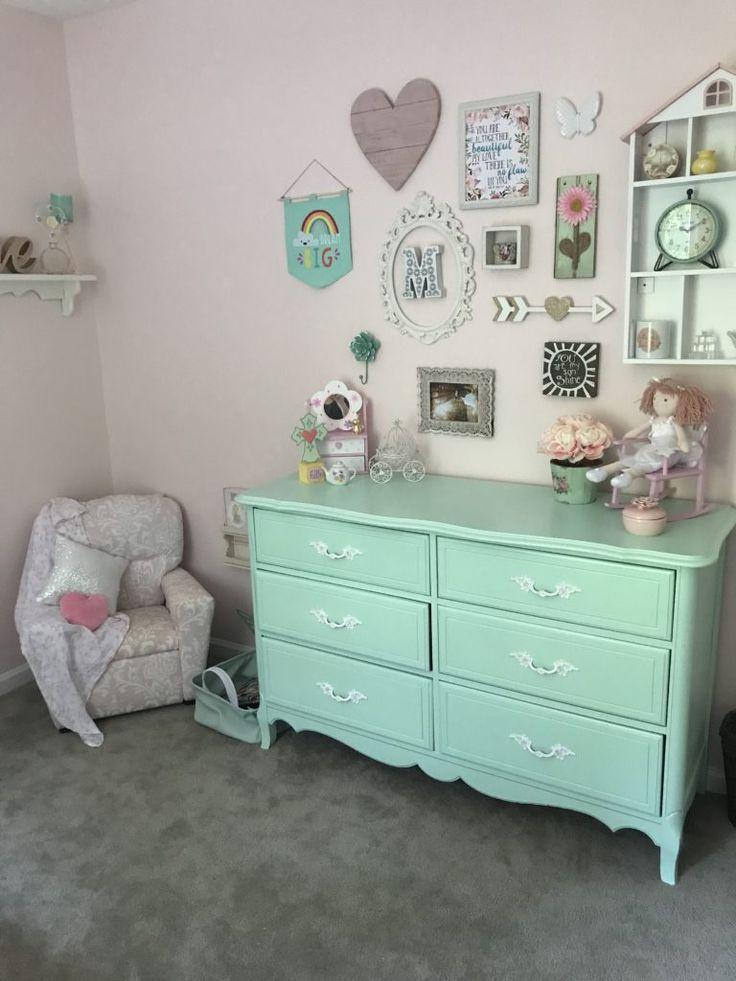 Shabby Chic Girls Toddler Room