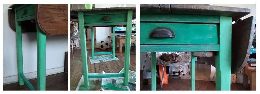 #DIY #mesa #decape #restauracion #mihogar