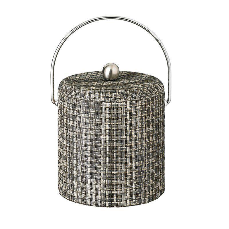 Kraftware Woven 3 qt. Fabric Lid Ice Bucket