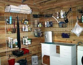Really Awesome Tack Room. I Love This Idea. Dust Would Fall Through Rather  Than