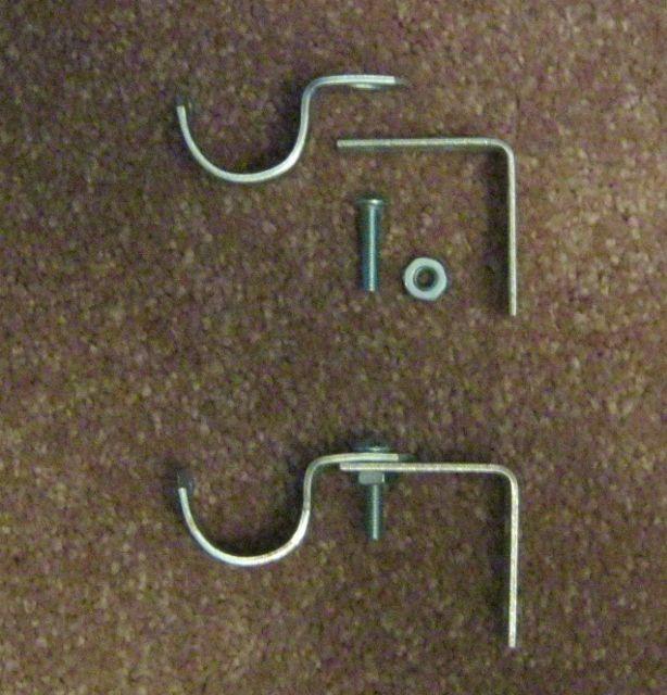 Diy Double Curtain Rod Brackets: Make Brackets For Diy Curtain Rods €�