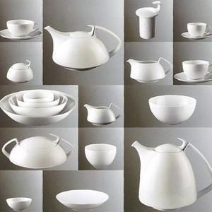 Walter Gropius tea set, manufactured by Rosenthal. My