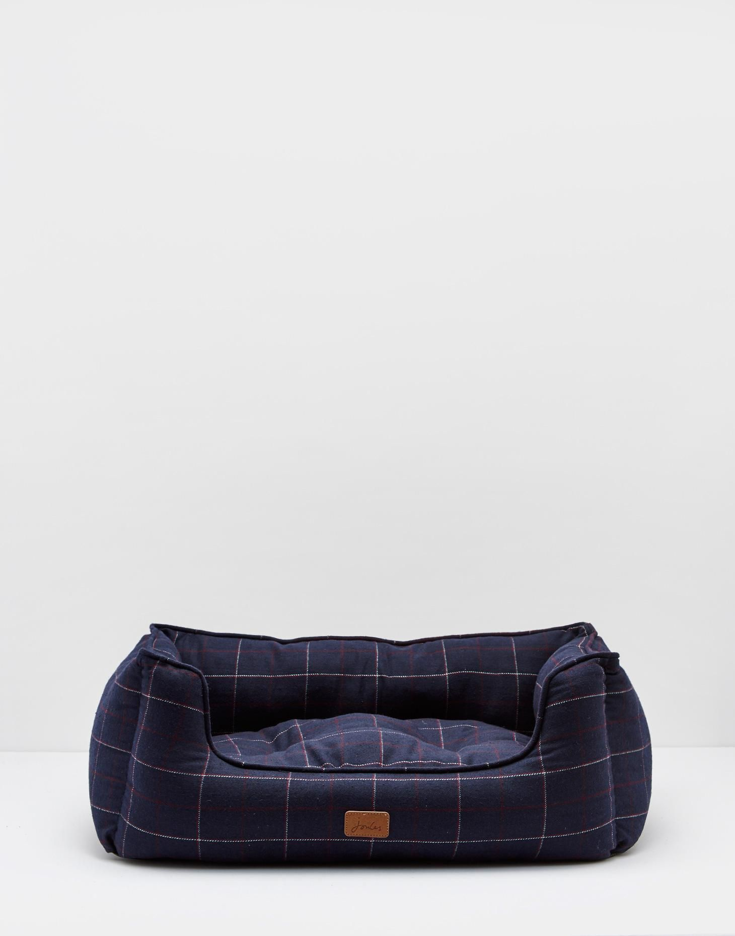 Nester French Navy Check Pet Bed Joules Uk Dog Bed Cushion Dog Bed Cute Dog Beds