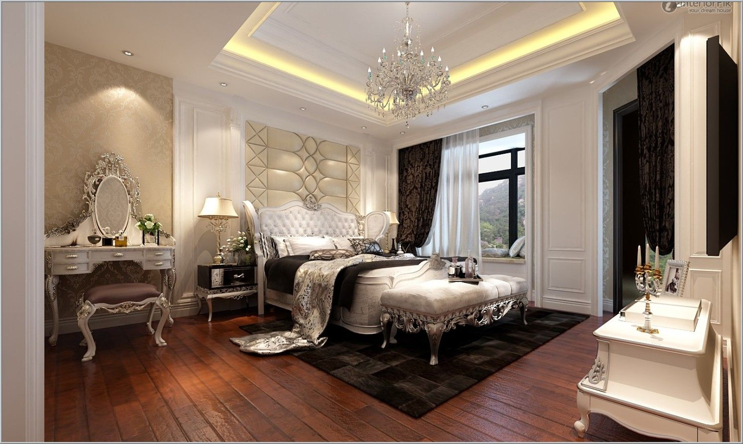 European Bedroom Designs Endearing European Modern Bedroom I See A Artistic Headboard Decorative Inspiration Design