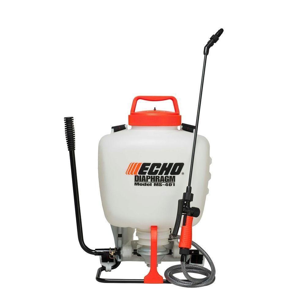 Echo Diaphragm Chemical Heavy Duty Pressurized Backpack Sprayer 4 Gallon Echo Sprayers Echo Home Depot