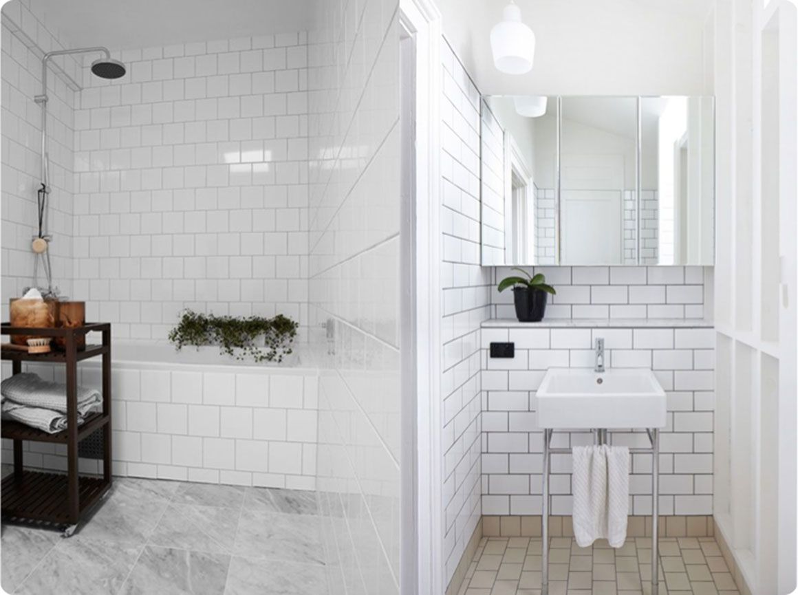 bathroom inspiration metro tiles google search