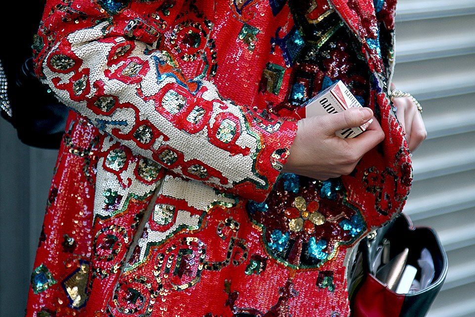 street style sequins
