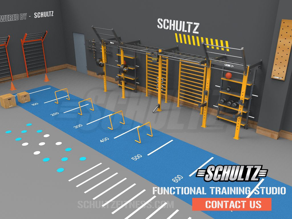 Crossfit Gym Set Up India Functional Training Gym Set Up