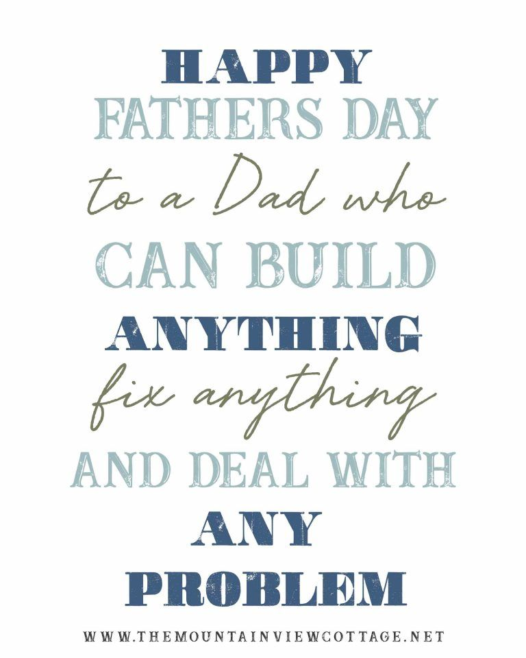 25 Dad Quotes to Inspire {With Images} - The Mountain View Cottage