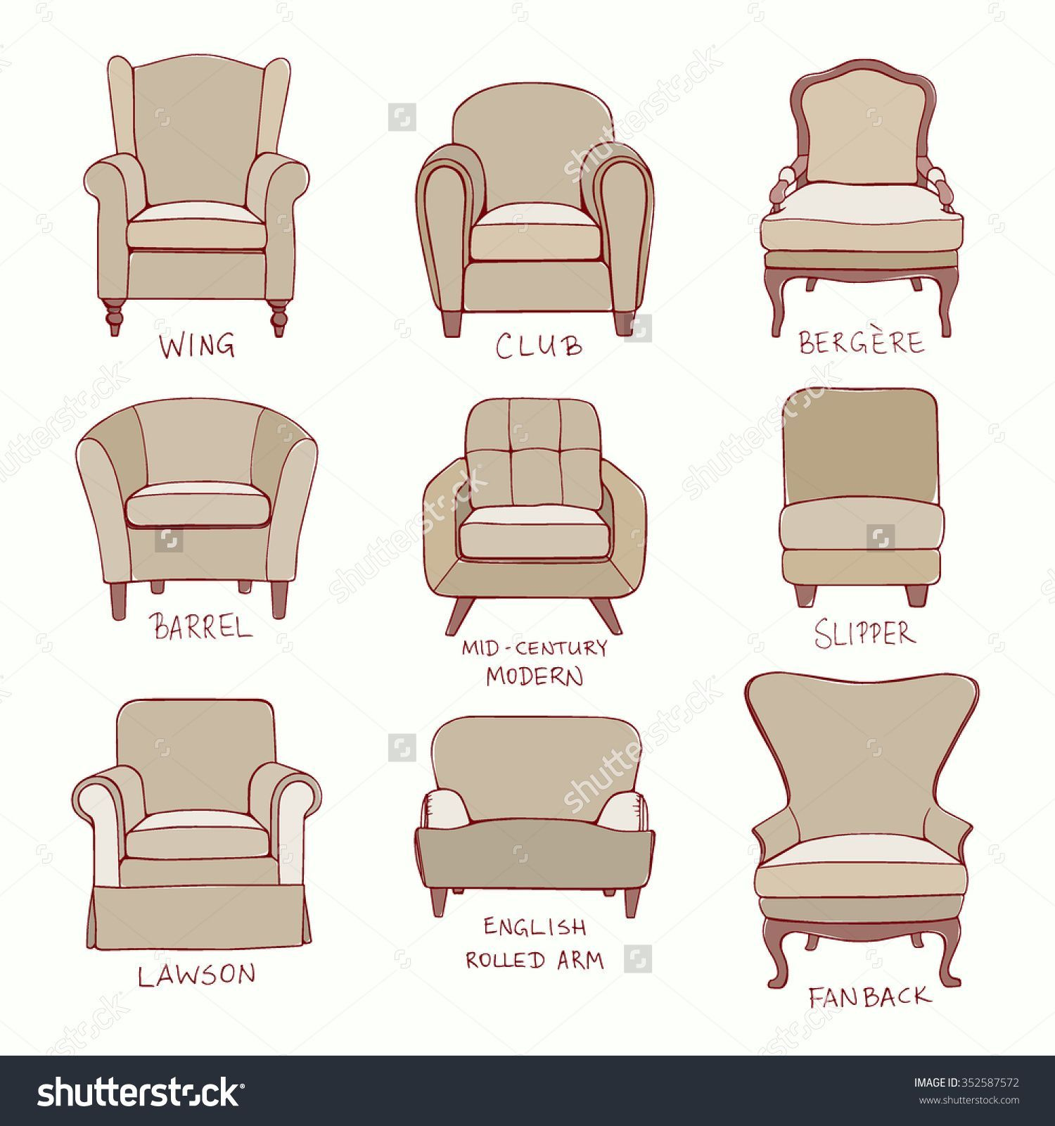Chair Styles Guide Simple Chair Design Chair Style Antique