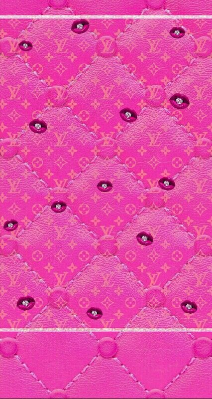Lips Lv Louisvuitton Pink Hello Kitty Pink Wallpaper Trendy