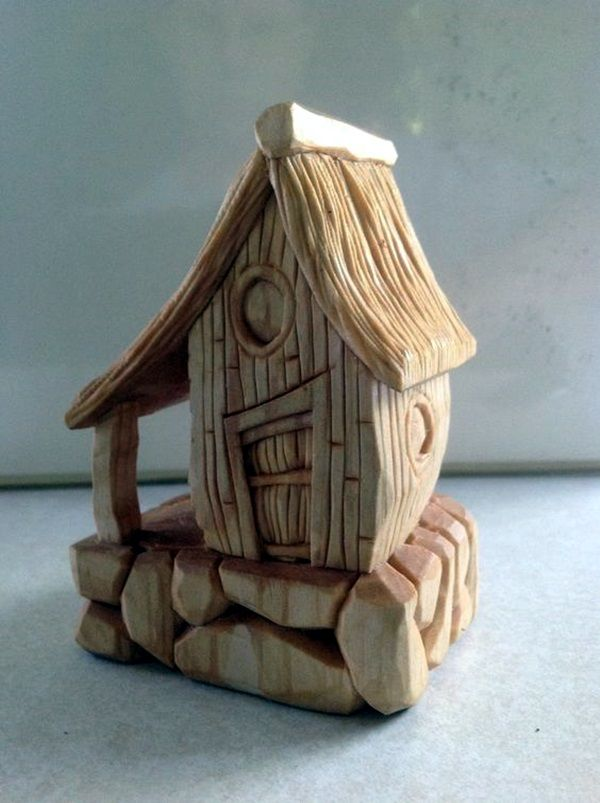40 Far Fetched Small Wood Carving Projects Crafts Wood