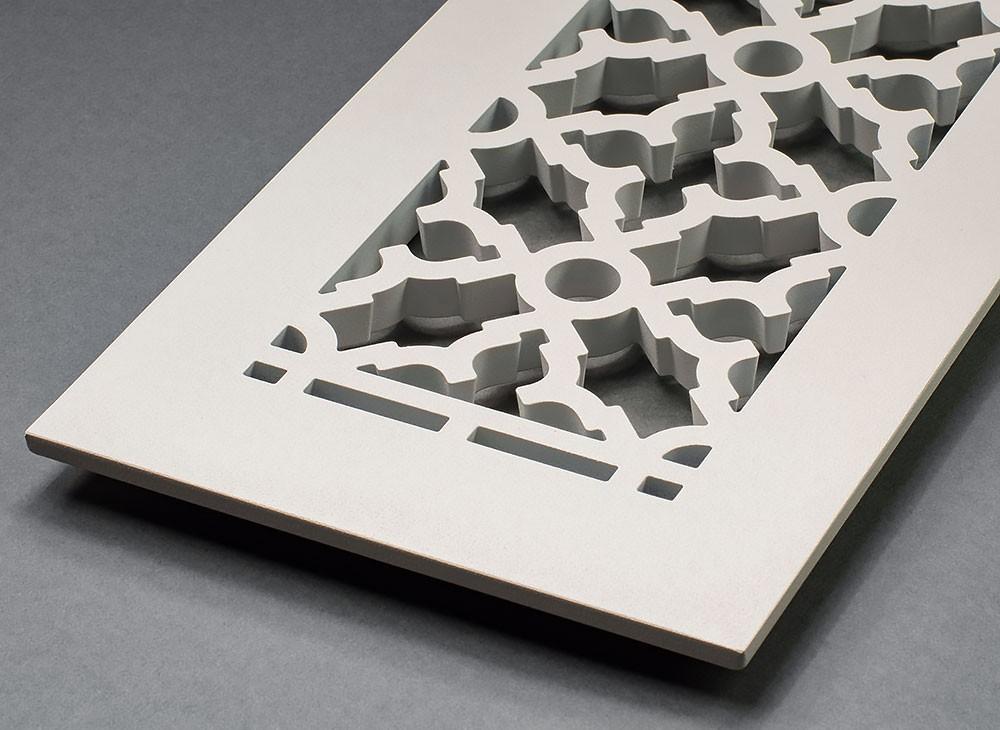 Metal Scroll Registers Vent covers, Custom wood, Scroll