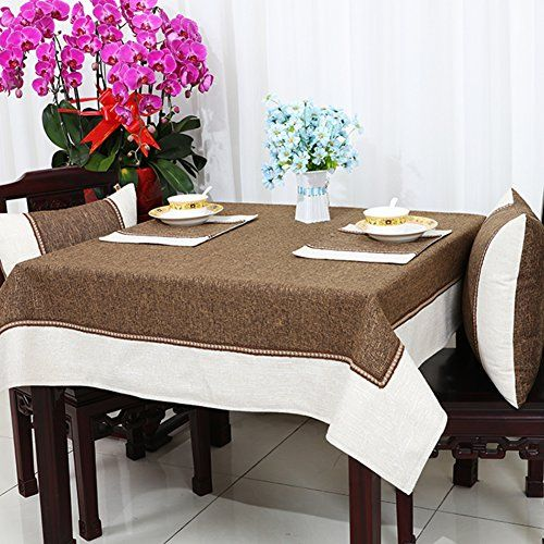 Rural Tablecloth,Linen Table Cloth Tablecloth,Coffee Table Cloth Desk Coffee  Table Rectangular Tablecloth