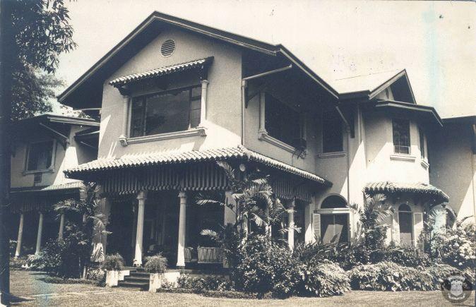 Former De la Rama-Osmeña Mansion, Cuneta Avenue (formerly Fisher Avenue), Pasay City.