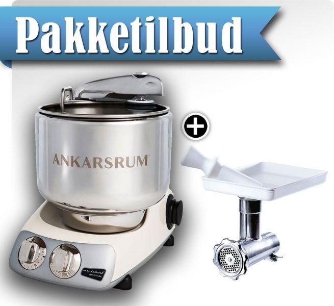 Ankarsrum Assistent Original AKM6220 Perlerosa + Grønnsakskutter