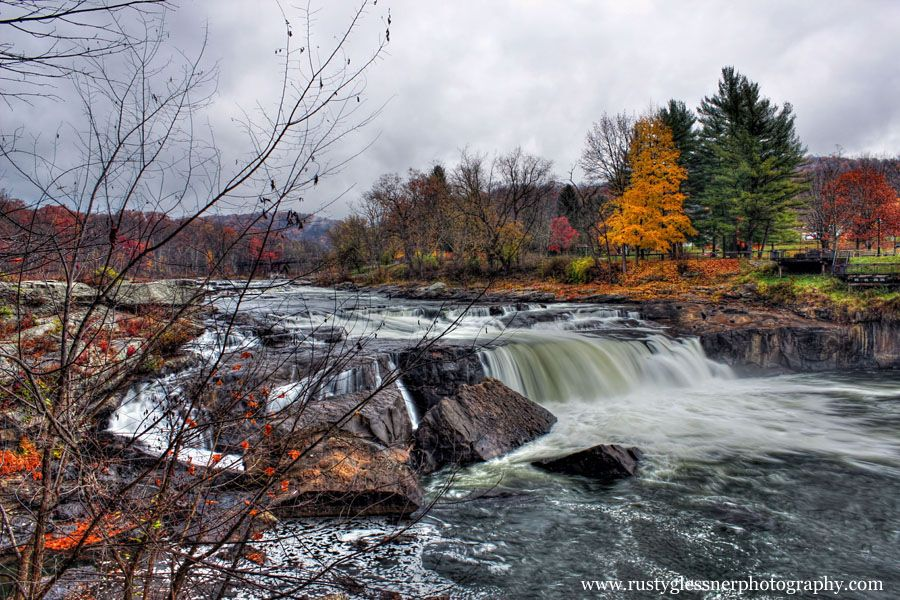 Ohiopyle Falls, Ohiopyle State Park, Fayette County, PA. Photographed 11.1.2014.