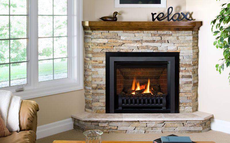 Direct Vent Fireplaces Corner Electric Fireplace Corner