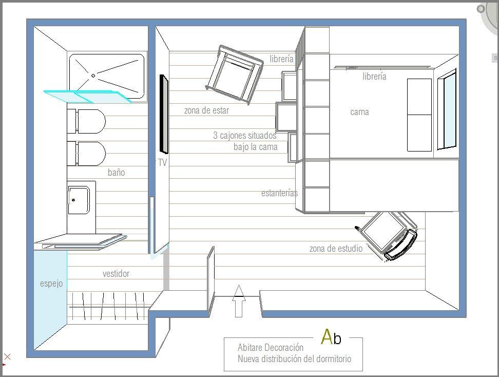Resultado De Imagen Para Planos De Habitaciones