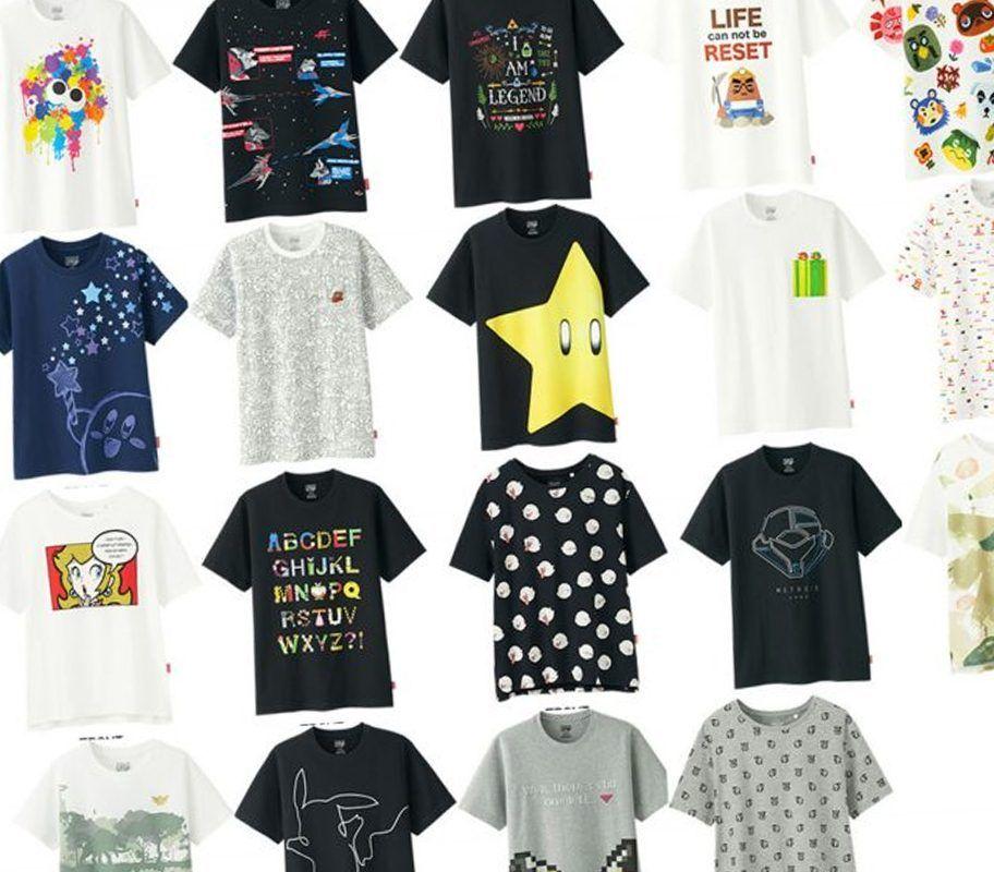 Nintendo Uniqlo T Shirts Coming To Australian Uniqlo
