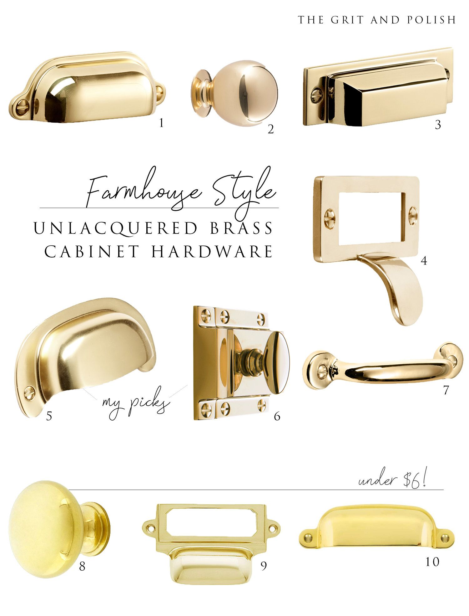 farmhouse kitchen picking our unlacquered brass hardware brass cabinet hardware brass on farmhouse kitchen hardware id=45612