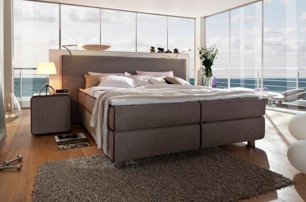 amerikanische betten springboxbett boxspringbett schlafzimmer modern